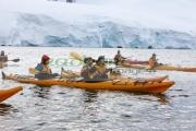 group-sea-kayakers-in-port-lockroy-antarctica