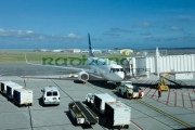 westjet-aircraft-at-St-Johns-international-airport-newfoundland-Canada