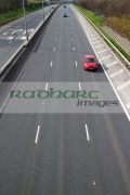 cars-driving-down-M2-motorway-in-county-antrim-northern-ireland