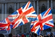 protesters-hold-union-flags-at-ongoing-protests-against-Belfast-City-Councils-decision-to-only-fly-the-Union-Flag-on-designated-days.-Belfast-City-Hall,-2nd-February-2013