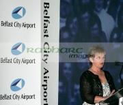 Barbara-McNarry-George-Bests-sister-at-George-Best-airport-renaming-ceremony,-Belfast-City-Airport,-Belfast,-Northern-Ireland.