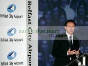 Martin-ONeill-at-George-Best-airport-renaming-ceremony,-Belfast-City-Airport,-Belfast,-Northern-Ireland.