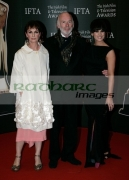 DUBLIN,-IRELAND-_-FEBRUARY-14:-Anne,-John-Rachel-Kavanagh-arrives-at-the-6th-Annual-Irish-Film-Television-Awards-at-the-Burlington-Hotel-on-February-14,-2009-in-Dublin,-Ireland-