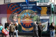 new-fianna-eireann-junior-wing-the-IRA-wall-mural-in-belfast-painted-for-the-1916-easter-rising-commemoration-on-beechmount-avenue-on-the-falls-road-belfast