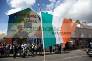 toy-irish-tricolour-flag-on-Easter-Sunday-at-the-Easter-Rising-Commemoration-Falls-Road-Belfast-Northern-Ireland-UK