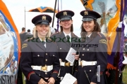 female-members-unionist-flute-band-during-12th-July-Orangefest-celebrations-in-Dromara-county-down-northern-ireland