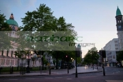 Belfast-City-Hall-donegal-square-in-early-evening-Northern-Ireland-UK