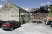Dundonald-Old-Mill,-Irelands-largest-Waterwheel,-County-Down,-Northern-Ireland.