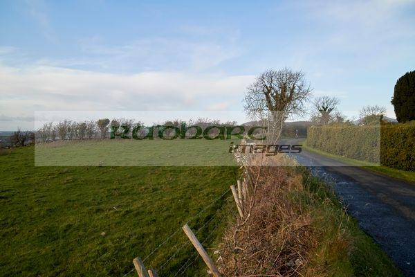 view from the hill of faughart over north county louth republic of ireland