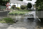 wildfowl-ducks-water-fowl-crossing-at-road-ford-with-car-ballsalla-isle-man-IOM-isle-man