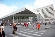Pedestrian-crossing-outside-Roma-Termini-main-bus-train-station-Rome-Lazio-Italy