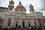 Church-Sant-Agnese-in-Agone-Piazza-Navona-Rome-Lazio-Italy