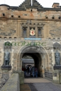 The-entrance-to-Edinburgh-Castle,-Edinburgh,-Scotland,-UK
